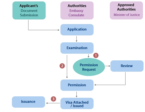 General Visa Issuance Flow